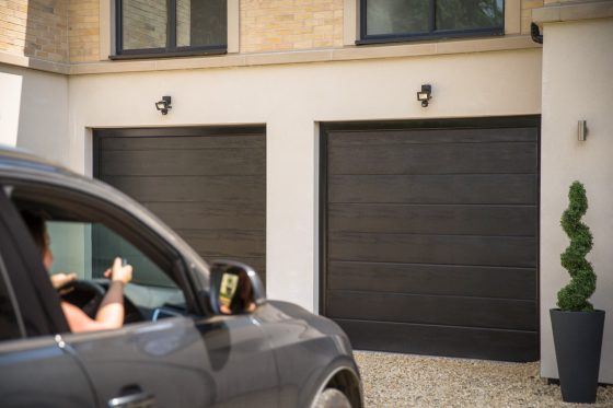 Sectional garage door repairs and advice in Norwich